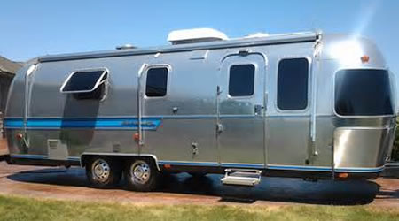 Picture of our Pop-up, Trailer, RV